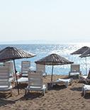 Bayanlar için özel plaj